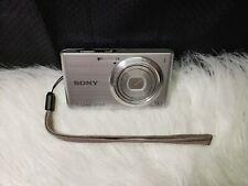 Sony Cyber-shot DSC-W610 14.1MP Digital Camera - Silver