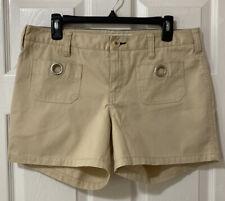 Tommy Hilfinger Woman's Size 10 Tan Color Shorts EUC!