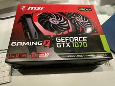 MSI GeForce GTX 1070 Gaming X 8G Graphics Card (Excellent Condition)