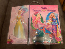 Barbie Fairytopia Mermaidia Paper Dolls & Dresses Enchanted Story Book Playset!