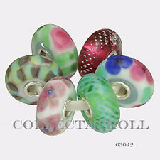 Authentic Trollbeads Silver Spring Fashion Kit - 6 Beads   63042