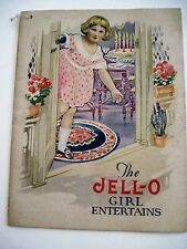 """Vintage Rosie O'Neil Ilustrations in """"The Jell-O Girl Entertains"""" w/ Kewpies *"""