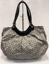 Louis Vuitton Monogram Bag Idylle Fantaisie Gray Cotton Hobo HandBag