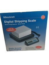 Brecknell Ps150 Digital Shipping Scale Bench Parcel 150 Lb Capacity Portable