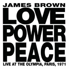 James Brown - Love Power Peace (Live Paris 1971) [New CD]
