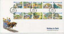 GUERNSEY 2002 HOLIDAYS ON SARK FDC LOT R2748