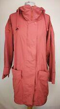 Adidas Stella McCartney Womens Coat, Size S, Pink, Cotton Blend, Hooded, GC Ⓘ7