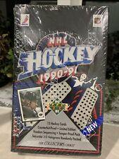 Upper Deck 20202 NHL 1990-1991 Hockey Cards Sealed Box