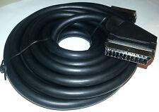 Scart-Verbindungskabel 21pol. Stecker/Stecker 5m schwarz