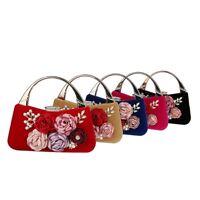 Fashion Clutch Evening Party Wedding Bag Handbag Women's Tote Purse Metal Frame