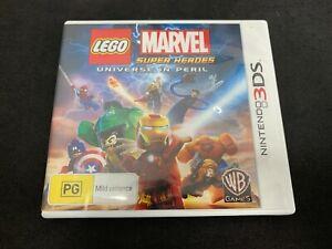LEGO Marvel Super Heroes Nintendo 3DS Game *No Manual* (PAL)
