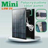 6V 2W Mini Solar Panel Module USB Port Battery Charger For Light Cell Phone DIY