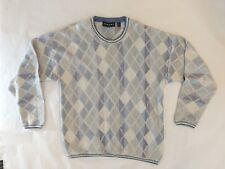 Vintage Norm Thompson Coogi Style Sweater Men's Large 90's Biggie Tundra