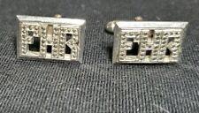 Cuff Links FHR Sterling 12K Initials