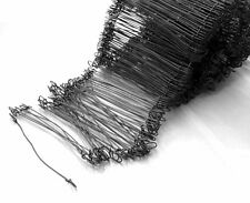 1000 Double Loop 17g Wire Bag/sack Ties 6 Inch agricultural / packaging