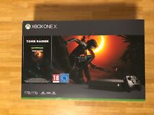 Xbox One X 1tb - Shadow Of The Tomb Raider Bundle
