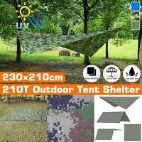 Außen Camping Garten Terrasse Sonnenschirm Segel Baldachin Markise 210T Oxford