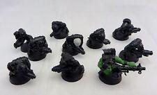 Warhammer 40k Orks Boyz  mob 10 army lot e