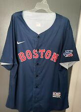 1986 Roger Clemens Boston Red Sox World Series Jersey