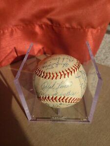1946 Pittsburgh Pirates TEAM SIGNED VINTAGE Baseball! KINER ROOKIE SIG! FRISCH!