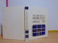 The New Book of Knowledge Annual 1982 (1982, Hardcover)