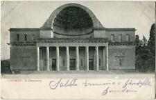 1910 Livorno - Il Cisternone veduta facciata esterna - FP B/N VG