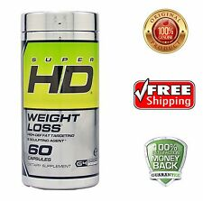 Cellucor Super HD60 Fat Burner Weight Loss High Def FREE SHIPPING Super HD 60