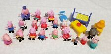 Pre-owned lot of Peppa Pig Toy Figures Lot Mixed Characters