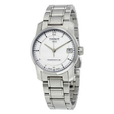 Tissot T-Classic Automatic Silver Dial Ladies Watch T0872074403700