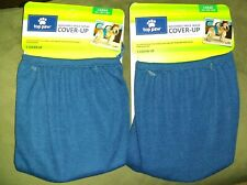 Lot of 2! TOP PAW WASHABLE DIAPER COVER-UP LARGE (35-90 LBS) - BLUE