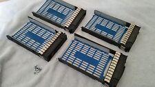 HP HOT SWAP 3.5 SATA SAS TRAY CADDY SLED 373211-001 ML350 ML370 G6 SERVER LOT 4