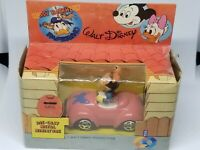 Minnie Mouse Die Cast Mail Car Vintage Disney 1983 CB ESCI Toys W/ Box Italy