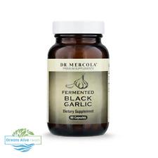 Fermented Black Garlic Dr Mercola 60 Capsules Liver/Gall Bladder