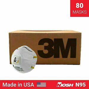 3M8210V - Case/8 Boxes of 10 (80pcs) - Exp 10/2025