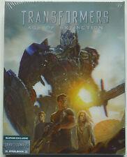 TRANSFORMERS 4 BLUFANS EDITION B 3-DISC BLU-RAY STEELBOOK NEU & OVP SEALED LENTI