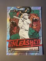Babe Ruth 2021 Donruss Unleashed Rapture Sp! New York Yankees Rare! Mint?