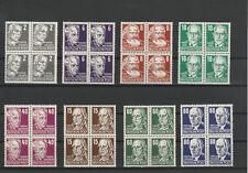 DDR FRÜHAUSGABEN 1953 Teilsatz VB´s Köpfe aus Mi. Nr. 327 - 341 xx geprüft