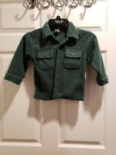 Baby Gap Vintage  Fleece Button Down Shirt Size 4 years