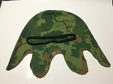 EARLY/ MID VIETNAM WAR US MITCHELL CAMO M1 HELMET COVER & BAND