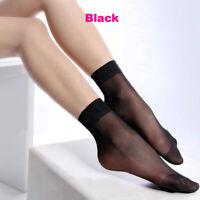 New US Stock Ann Diane Women Ankle Sheer Ultra Nylon Socks 12 pairs Color