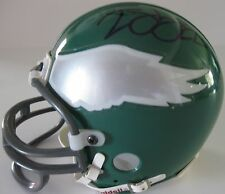 DUCE STALEY,PHILADELPHIA EAGLES,SIGNED,AUTOGRAPHED,MINI HELMET,COA