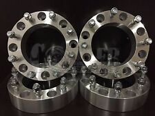 "4 X 2"" Thick 8 Lug Wheel Spacers Dodge Ram 2500 3500 Dually 9/16 Studs"
