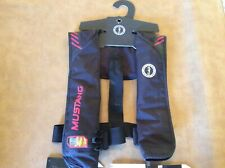 Preowned Mustang Survival Inflatable Life Vest Manual MIT 100 PFD MD2014 02