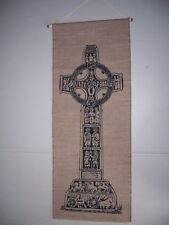 African Cross Cloth Wall Hanging