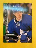 2016-17 UD Parkhurst Green Rookie #390 Mitch Marner Toronto Maple Leafs RC