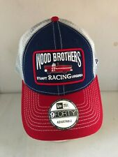 More details for nascar cap wood brothers  adjustable at the back embroidered new era
