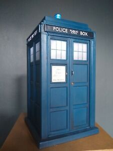 9th & 10th Doctor Who TARDIS Light Only Electronic Flight Control Police Box