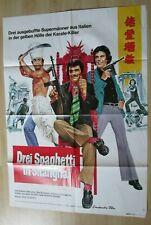 Filmplakat - Drei Spaghetti in Shanghai ( Sal Borgese , Isabella Biagini )