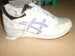 vintage shoes asics gel saga w  collectors only       5 usa       new  1980