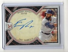 Eric Thames 2018 Topps Museum Collection Baseball Autograph #'d 33/50 (BREWERS)
